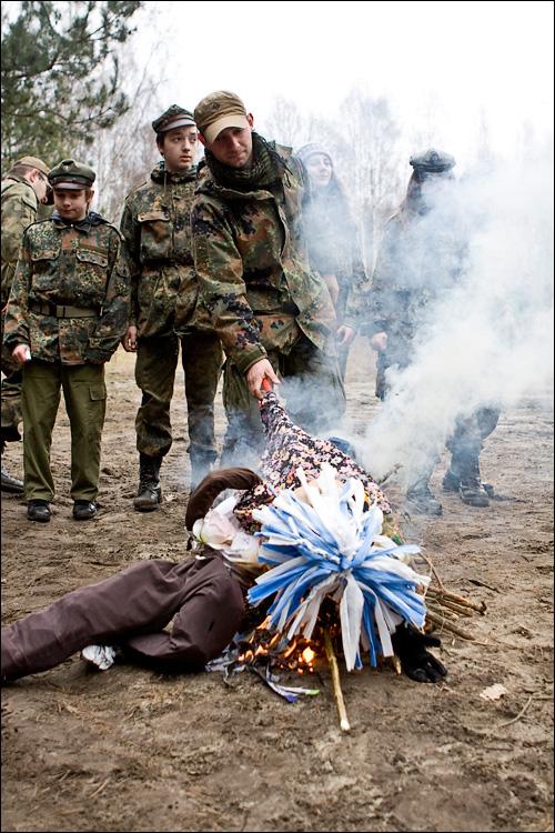 Powitanie Wiosny - 77 Mazowiecka Drużyna Harcerska