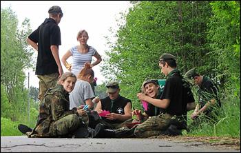 Rajd Wisła 2011 - 77 Mazowiecka Drużyna Harcerska