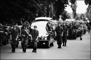 77 Mazowiecka Drużyna Harcerska - Pogrzeb dh Roberta Komonia
