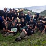 Obóz Wędrowny 77MDH - opuszczona osada Kołonice