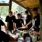 Obóz Wędrowny 77MDH - Baza Studencka Rabe