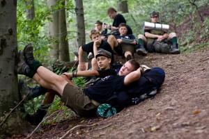 77 Mazowiecka Drużyna Harcerska - Obóz 2011