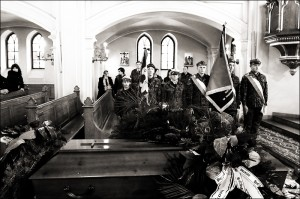 Pogrzeb hm Henryka Godlewskiego - 77 Mazowiecka Drużyna Harcerska