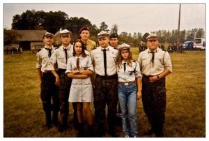 Rajd Szlakami Grupy AK Kampinos 1999