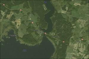 Jezioro Tyrkło i okolice - Google Maps