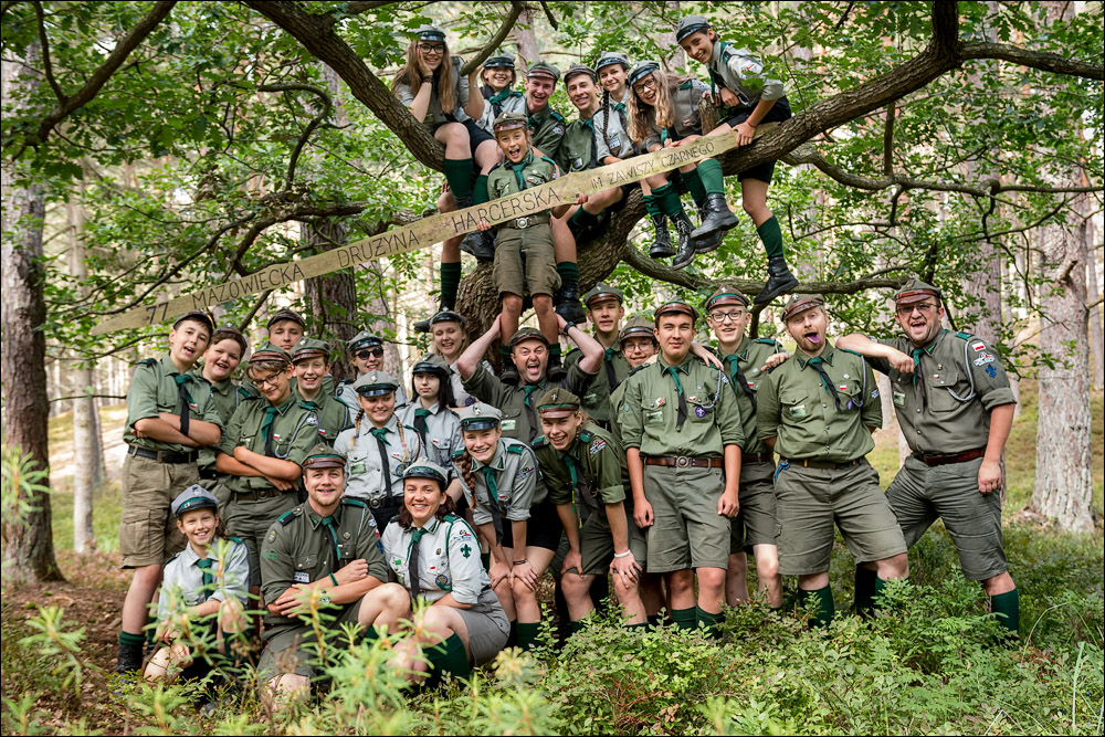 77 Masovian Scout Team - current photo