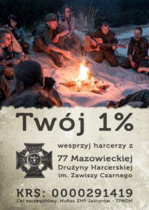 1% dla harcerzy 77MDH