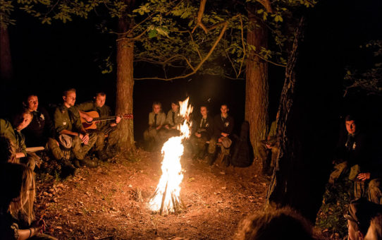 Usiądź z nami przy ognisku